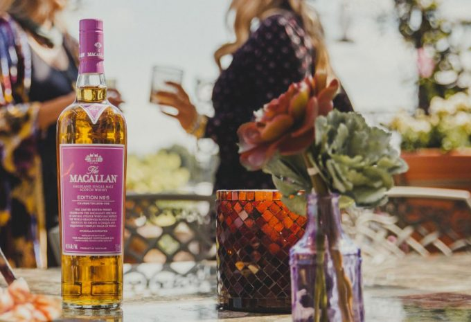 The Macallan partners with Pantone to create bespoke colour for new 'No.5' single malt