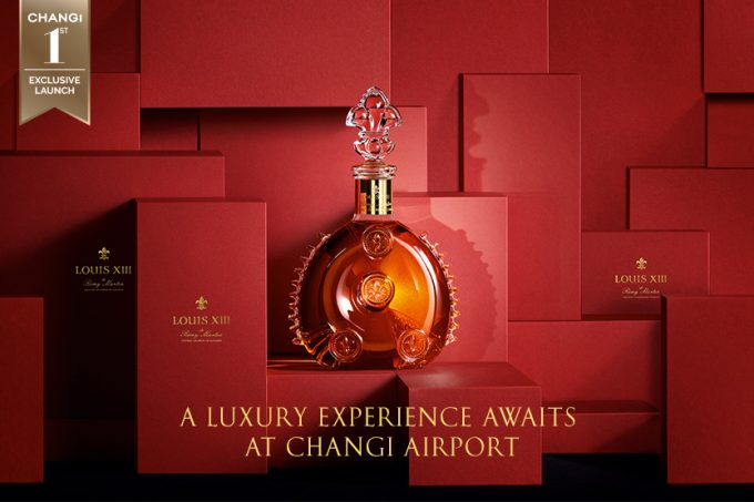 Luxury awaits travellers at Singapore Changi as Louis XIII experience opens