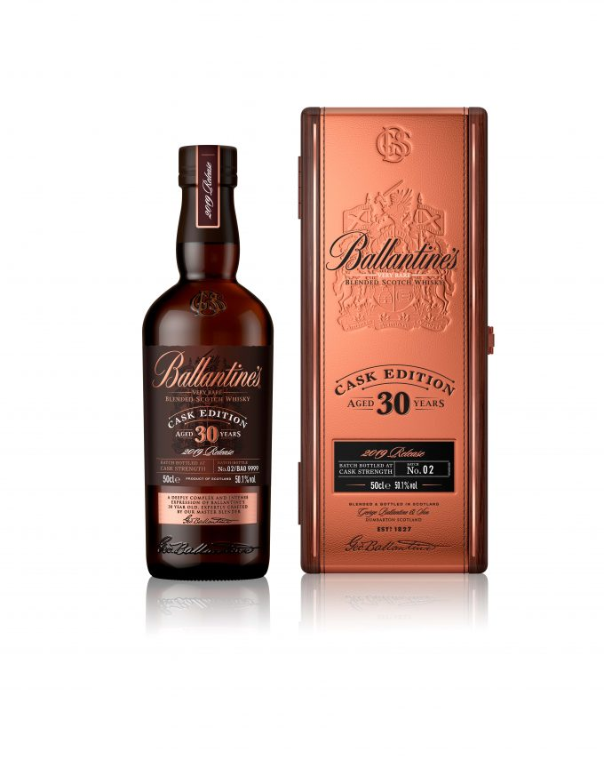 Ballantine's unveils 30 Year Old Cask Edition – Exclusive to Korean duty free