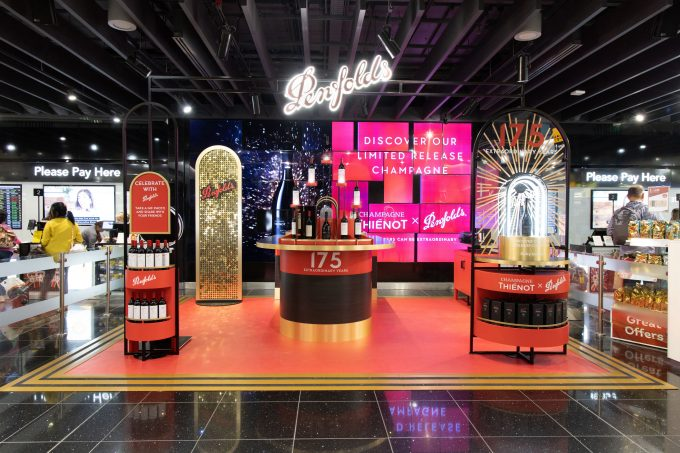 Penfolds Wine and Champagne Bar opens at Heathrow's T5 World Duty Free