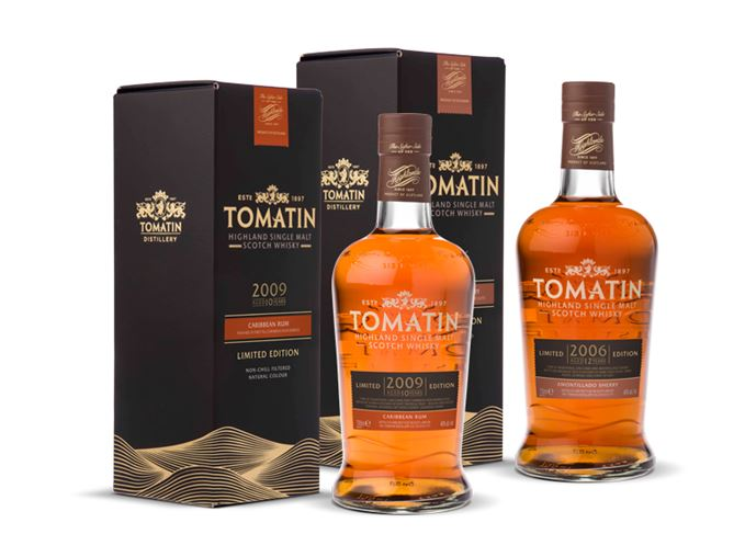 Tomatin Distillery releases two new Limited Edition expressions