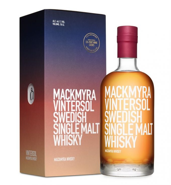 Mackmyra warms up for winter with new seasonal edition
