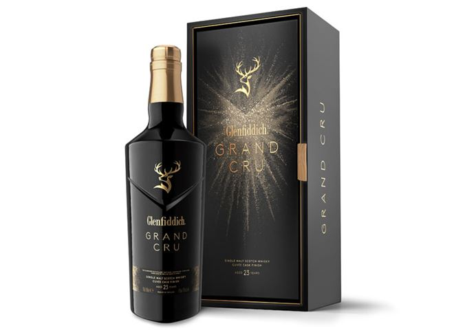 Glenfiddich launches Grand Cru single malt in duty-free