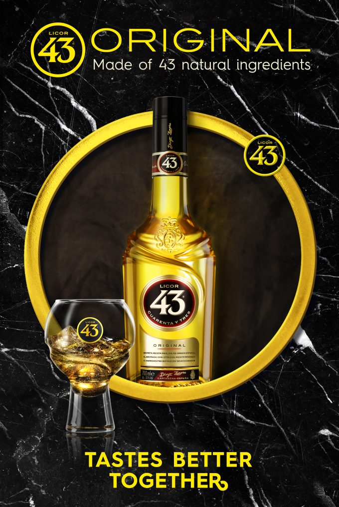Licor 43 launches new 'Tastes Better Together' campaign