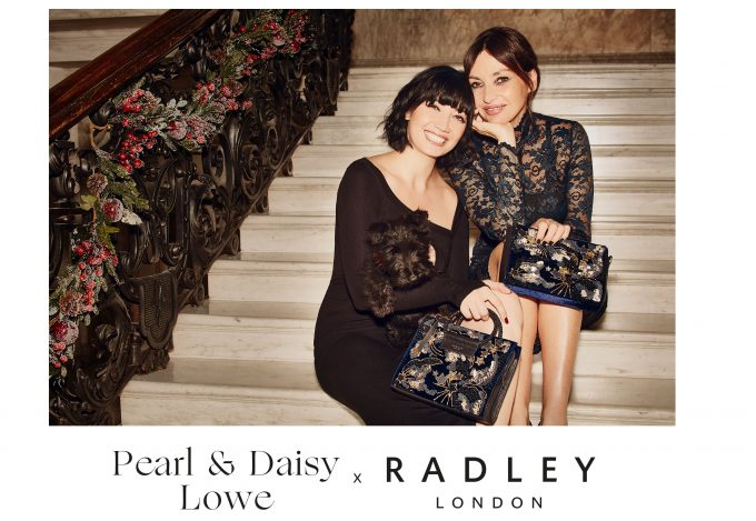 Radley casts Pearl & Daisy Lowe for their Winter #RadleySpirit campaign