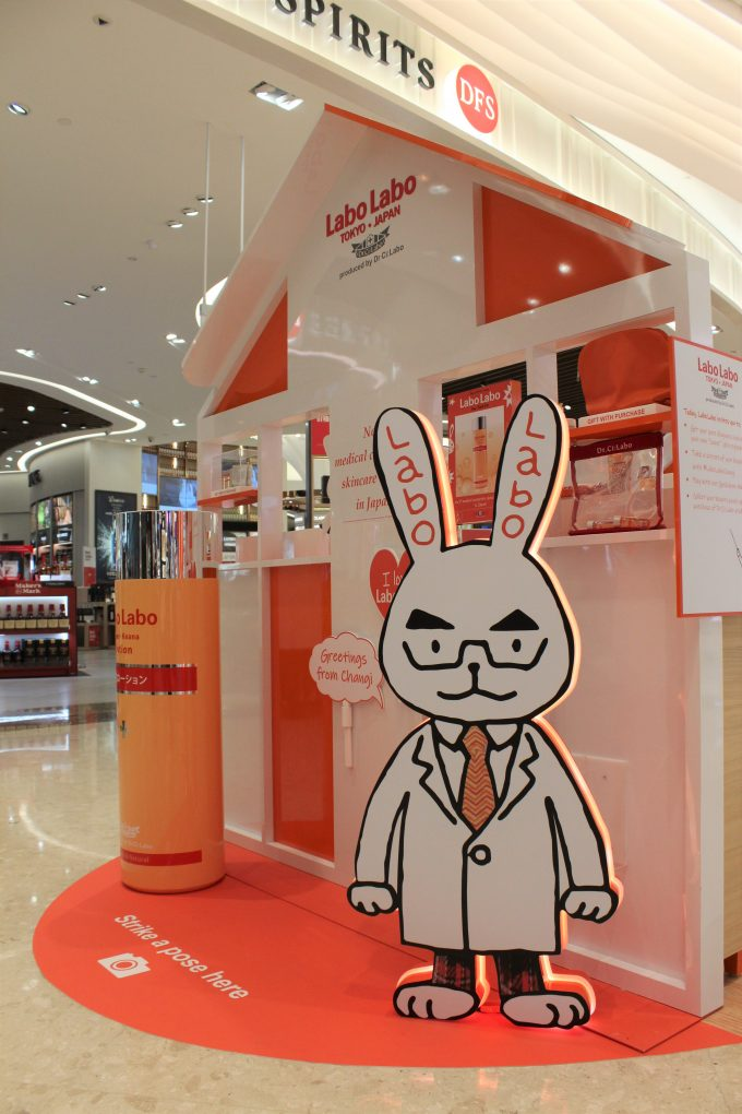 Labo Labo J-Beauty brand comes to life for travellers at Singapore Changi Airport