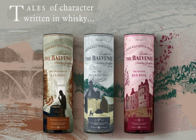 The Balvenie adds three new whiskies to its Stories range, Exclusively in duty-free