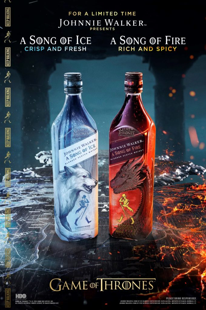 Johnnie Walker launches two new limited edition Game of Thrones whiskies
