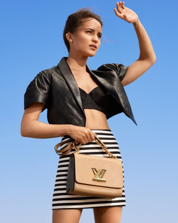 Louis Vuitton taps Alicia Vikander & Léa Seydoux to show off its New Classics