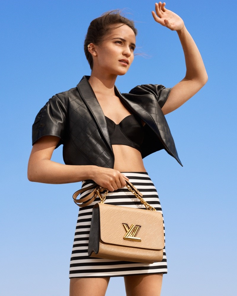 Louis Vuitton taps Alicia Vikander & Léa Seydoux to show off its New Classics