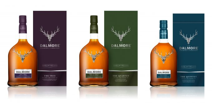 The Dalmore unveils new duty-free exclusives – The Trio, The Quartet and The Quintet