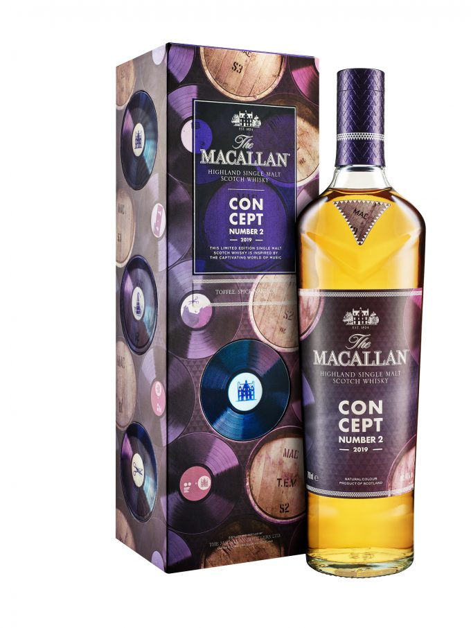 The Macallan reveals Concept No. 2 – a house music inspired malt whisky for travellers