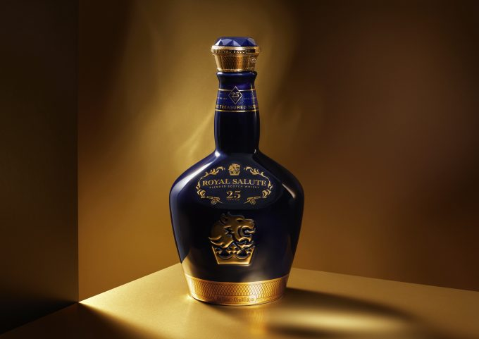 Royal Salute unveils new 25 Year Old – The Treasured Blend – duty-free exclusive whisky