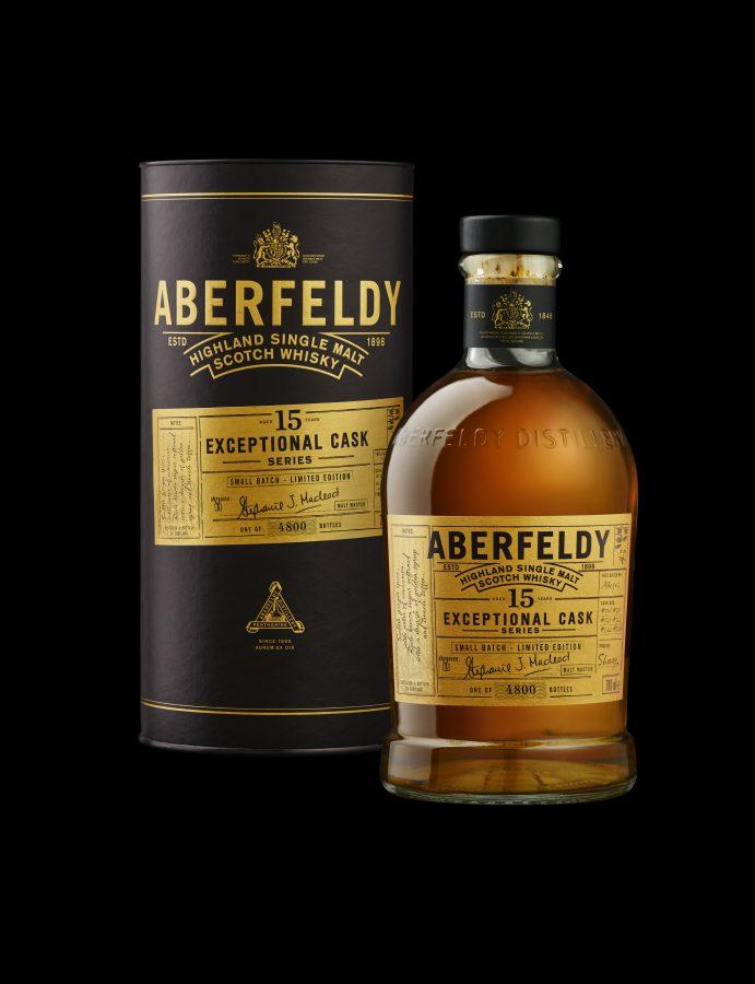 Aberfeldy launches Exceptional Cask 15 YO as Heinemann Duty Free exclusive