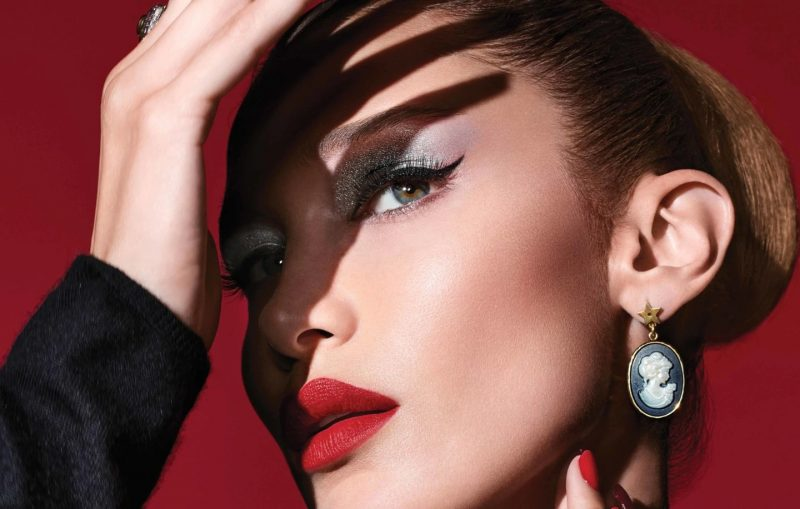 Dior and Bella Hadid get ready for a Spooky Beauty Halloween