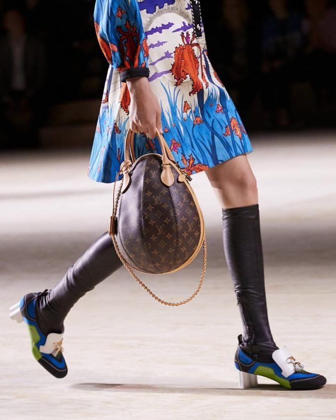 Meet Louis Vuitton's new bags for SS20: the 'Blade' and the 'Egg'