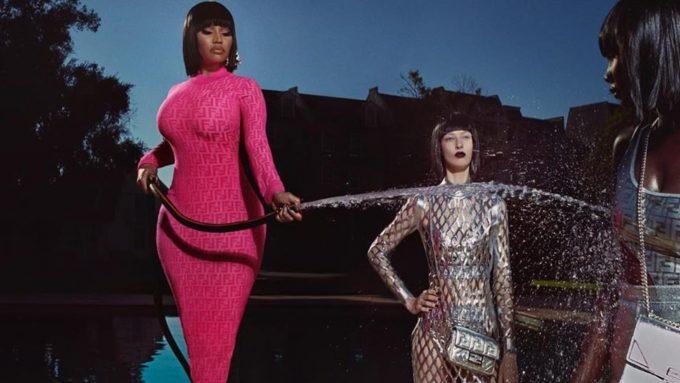 Fendi Prints On: Nicki Minaj x Fendi collection splashes down