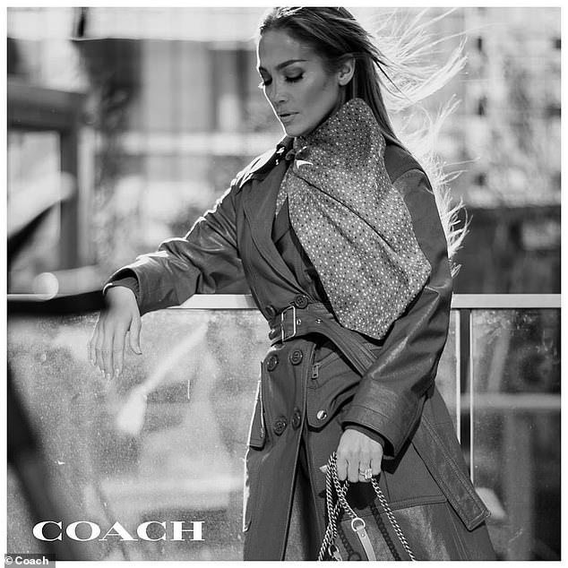 Jennifer Lopez is the new face of Coach