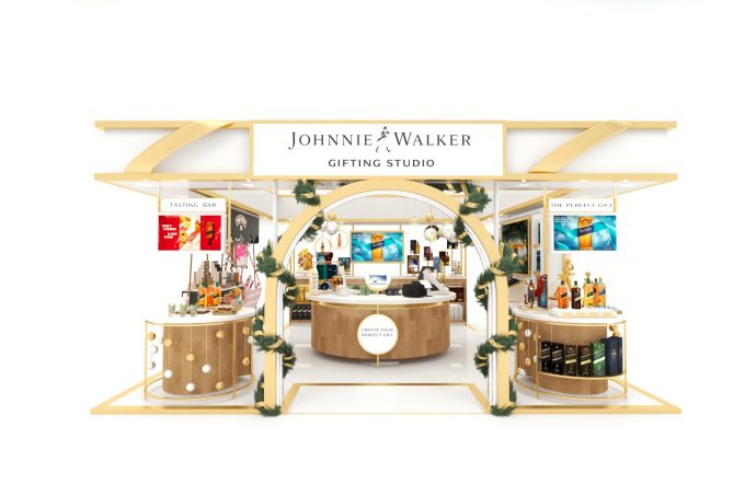Exclusive Johnnie Walker gifting studio opens at DFS, Singapore Changi Airport
