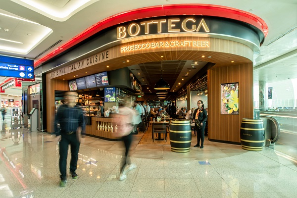 Bottega Prosecco opens at Dubai International Airport