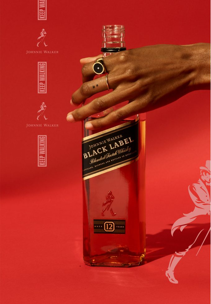 Johnnie Walker Keeps Walking with vibrant new campaign