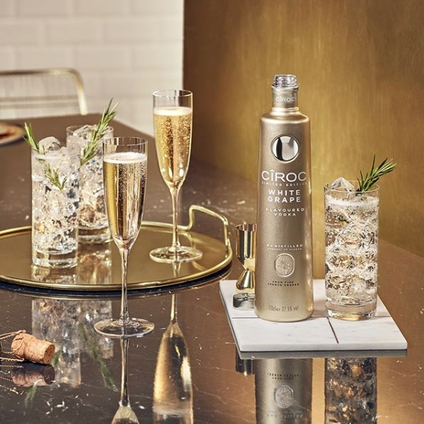Cîroc vodka releases festive white grape edition