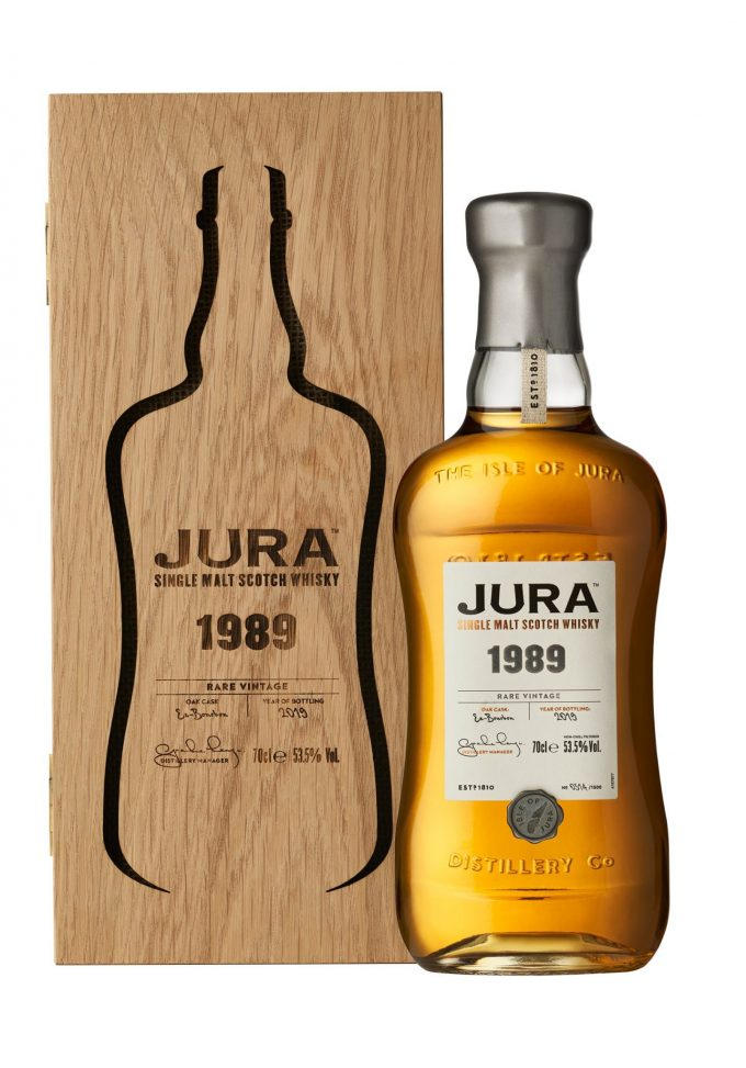 Jura releases two new Rare Vintage limited edition malt whiskies