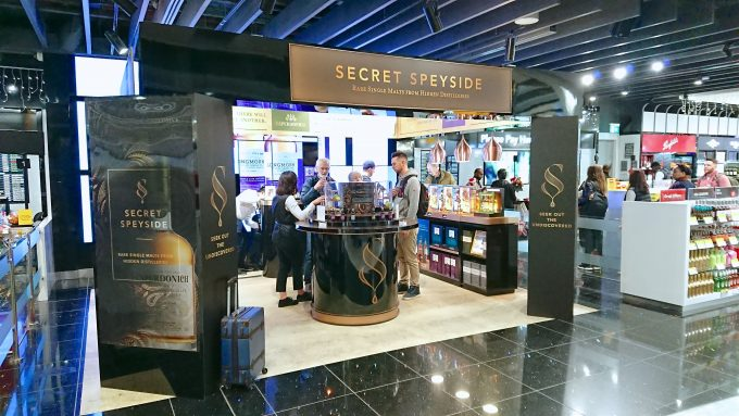 Uncover the Secret: The Secret Speyside Collection discovered at London Heathrow T5