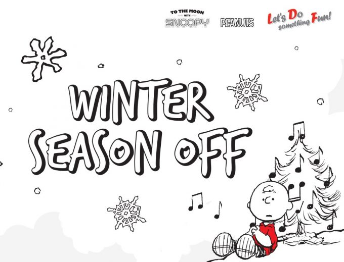 Lotte Duty Free (and Snoopy) launch 'Winter Season Off' sales