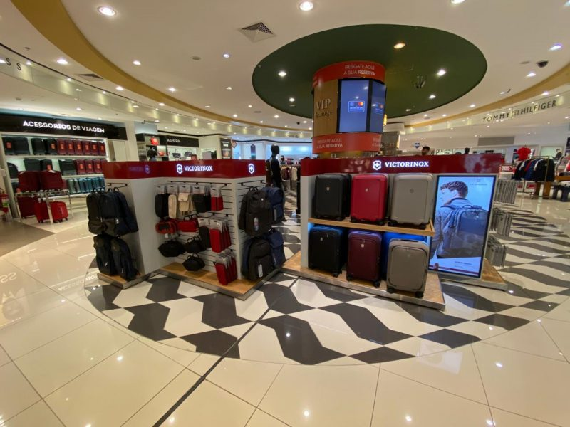 Victorinox Bags Sao Paulo Airport Openings With Dufry