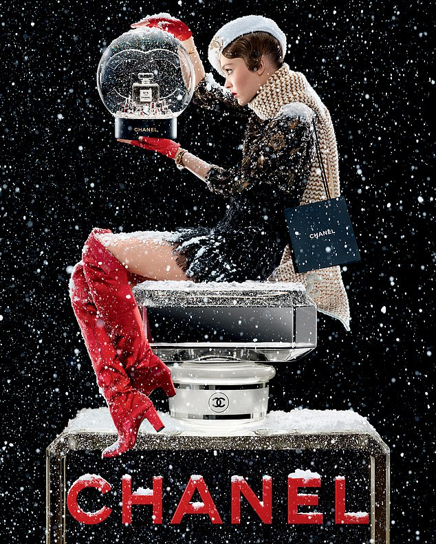 CHANEL brings snow to beauty shoppers at Singapore Changi Airport