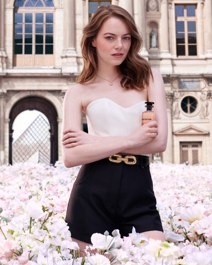 Emma Stone fronts new Louis Vuitton fragrance