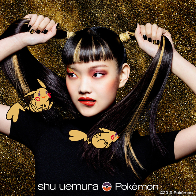 Shu Uemura teams with Pokémon for holiday beauty collection