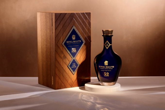 Royal Salute releases first edition of its exceptional Time Series – a 52 Year Old Single Cask Finish
