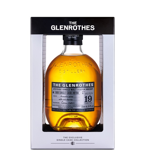 Glenrothes releases a 2nd Exclusive Single Cask bottling for World Duty Free and Heathrow