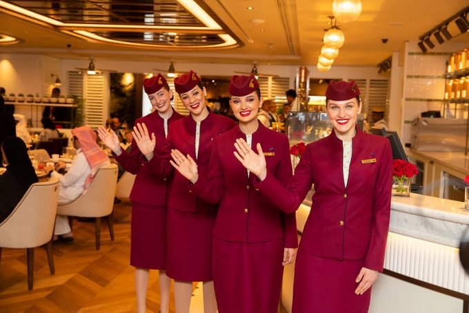 Qatar Duty Free opens Harrods Tea Room at Hamad International Airport
