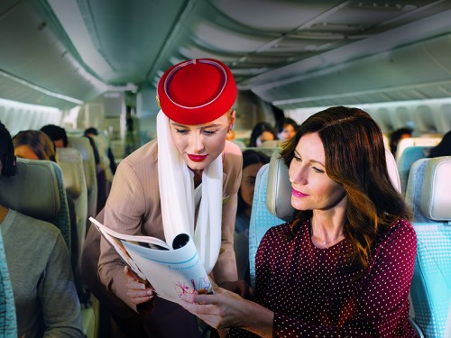 Emirates upgrades inflight retail with new EmiratesRED offering