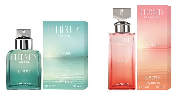 Calvin Klein unveils NEW limited edition ETERNITY Summer scents