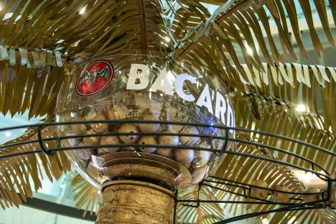 Bacardí brings a taste of the Caribbean to Miami International Airport for the holiday season