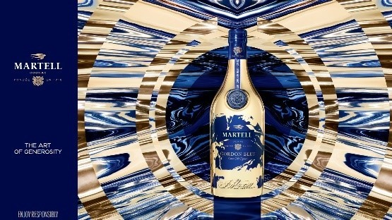 Martell celebrates generosity (in duty-free) with a festive special edition Cordon Bleu