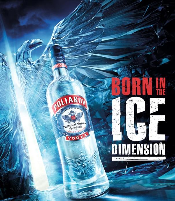 Poliakov Vodka reveals KRYO 'frozen' limited edition