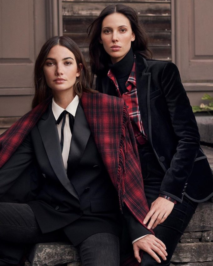 Aldridge sisters get festive in Ralph Lauren's holiday campaign