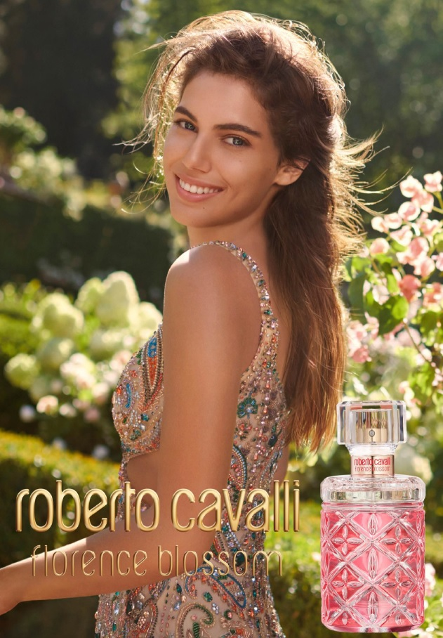 Roberto Cavalli flowers with new Florence Blossom fragrance