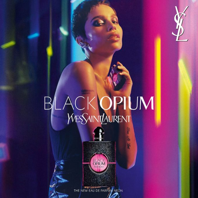 YSL lights up the world with new Black Opium NEON