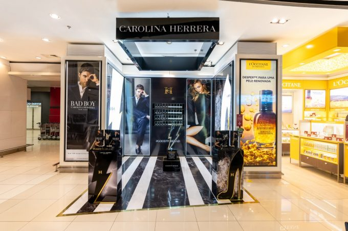Good to be bad (at the airport): Carolina Herrera unleashes its rebellious side with Bad Boy duty-free launches