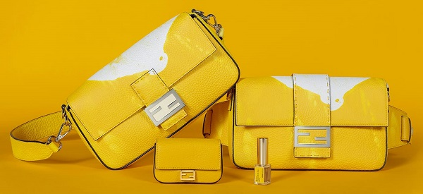 Fendi creates a limited edition scented Baguette bag