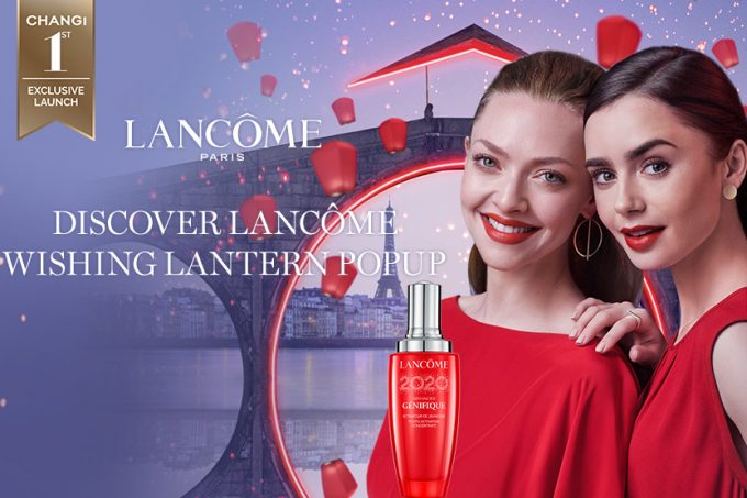 Lancôme celebrates Chinese New Year with beauty pop-up at Singapore Changi Airport