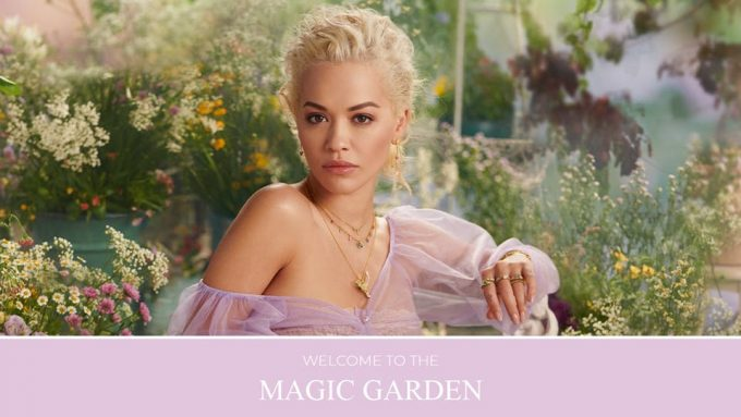 Rita Ora reveals Thomas Sabo's Magic Garden
