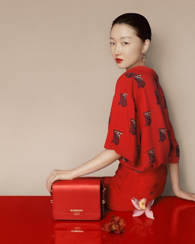 Burberry sees red for Chinese New Year 2020