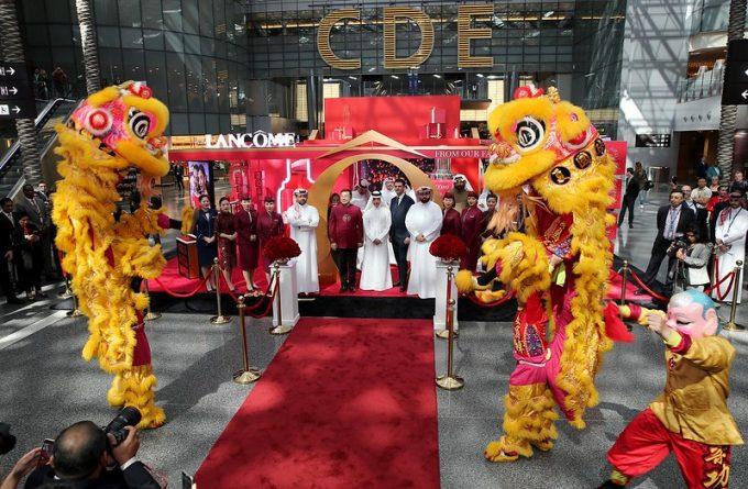 Qatar Duty Free and Lancôme put on a show for Shop Qatar festival and CNY